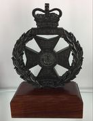 RGJ Cap Badge Statue